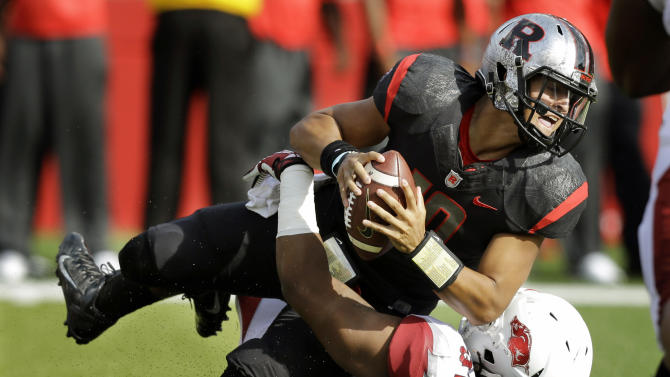 Razorbacks stumble late in 28-24 loss to Rutgers