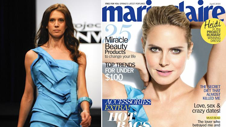 Heidi Klum Rocks 'Project Runway' Designs - Anthony Williams: Season 7, 5th place;