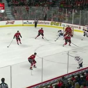 Chris Stewart Goal on Jonas Hiller (10:33/1st)
