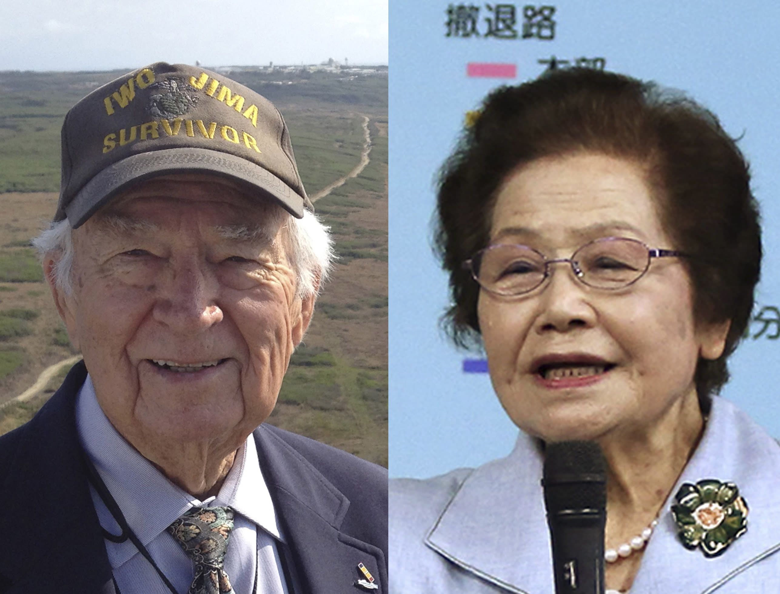 Iwo Jima vet, Okinawa survivor wrestle with WWII legacy