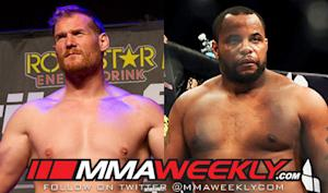Strikeforce Barnett vs. Cormier Weigh-In Results: Heavyweight Grand Prix Final Official
