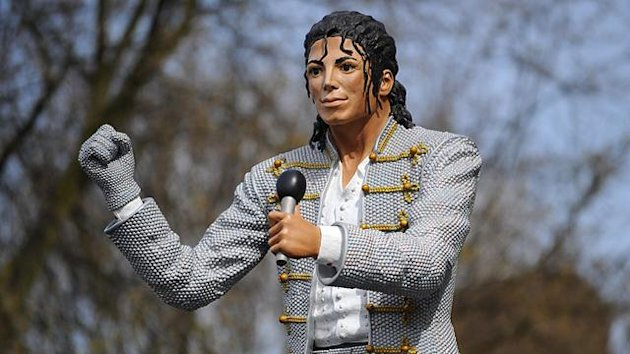 Premier League statue of Michael Jackson outside Craven Cottage, Fulham (PA Photos)
