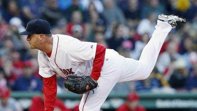 Napoli blasts 2 HRs in Boston's 8-3 win over Angels