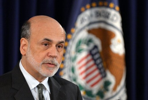 <p>US Federal Reserve chief Ben Bernanke, seen here in September, said the trillions of dollars that the Fed has pumped into the world's biggest economy in recent years were not only aimed at stoking growth at home, but also helping the wider global economy recover.</p>