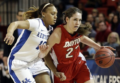 Mathies and Kentucky women beat Dayton 84-70