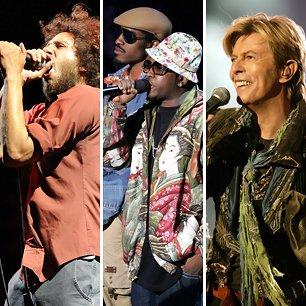 Rage Against the Machine, OutKast, David Bowie
