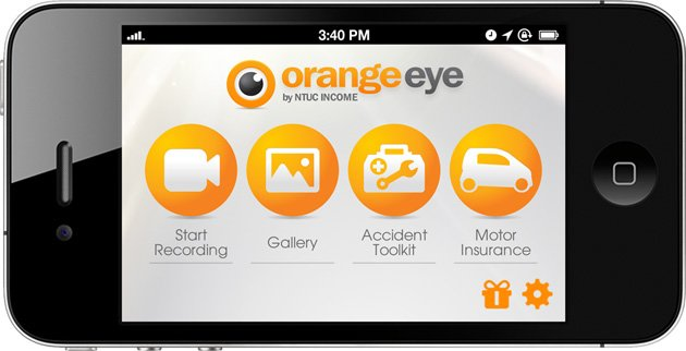 Orange Eye DVR App