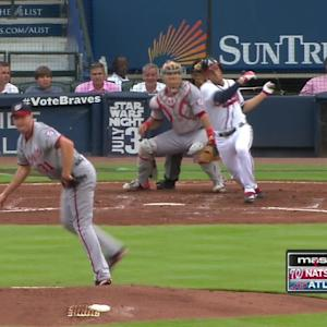 Escobar flashes range, gets out