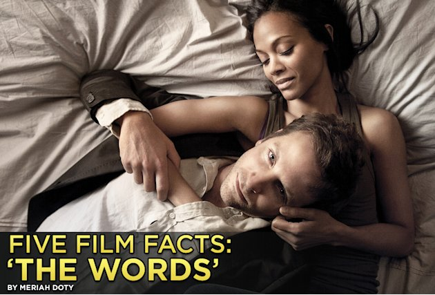 five film facts the words, 2012