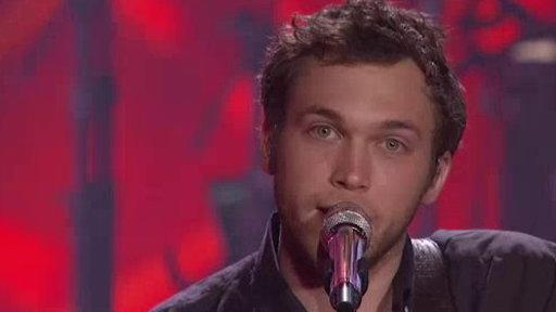 "Top 12 Results: Phillip Phillips ""Raging Fire"""