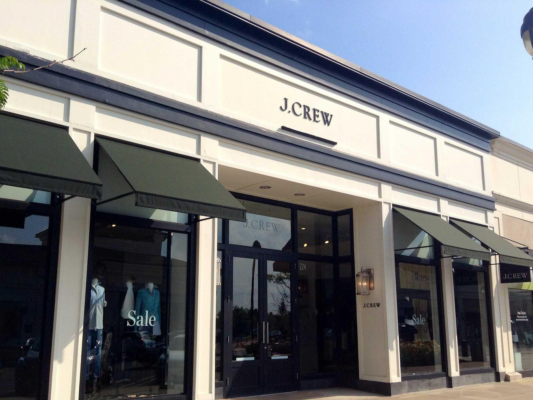 J. Crew isn't cool anymore