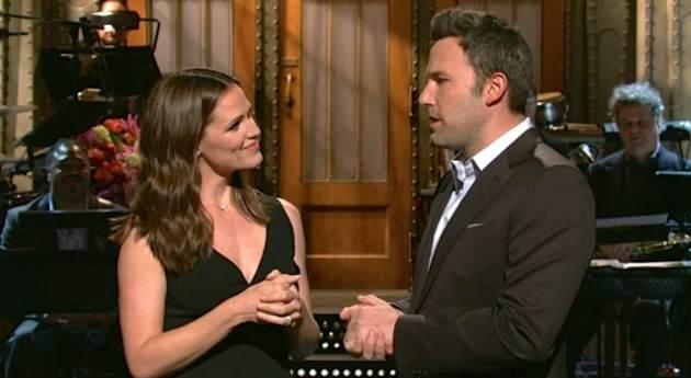 Jennifer Garner, Ben Affleck on 'SNL' -- NBC