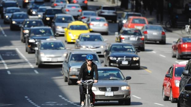 Vancouver is Canada's most dangerous city for bicyclists