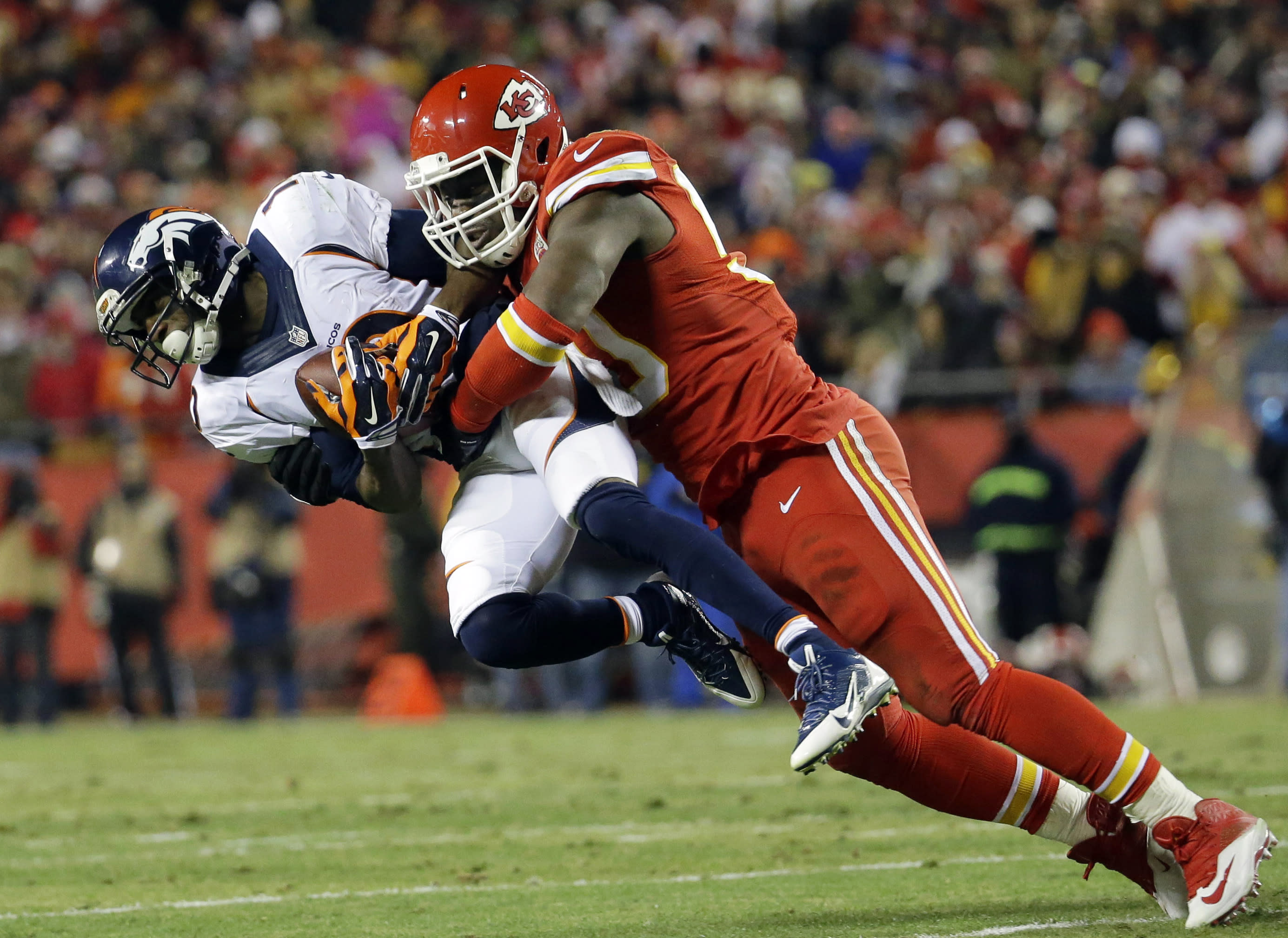 Chiefs place franchise tag on All-Pro Houston