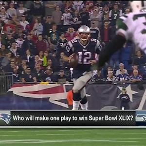 Who will make one play to win Super Bowl XLIX?