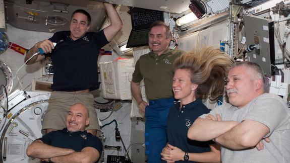 Labor Day In Space: Astronauts Take Time Off, Too