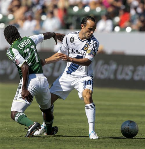 Dunivant helps Galaxy snap 7-game winless streak
