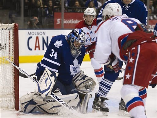 Capitals send Leafs to 4th straight loss, 4-2