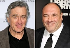 Robert De Niro, James Gandolfini | Photo Credits: Jamie McCarthy/Getty Images; Jason LaVeris/FilmMagic