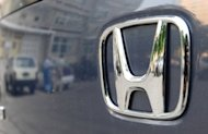 File photo shows a Honda Odyssey minivan in Beijing. An official at Honda said there had been a negative impact on the firm&#39;s sales in China owing to the tensions
