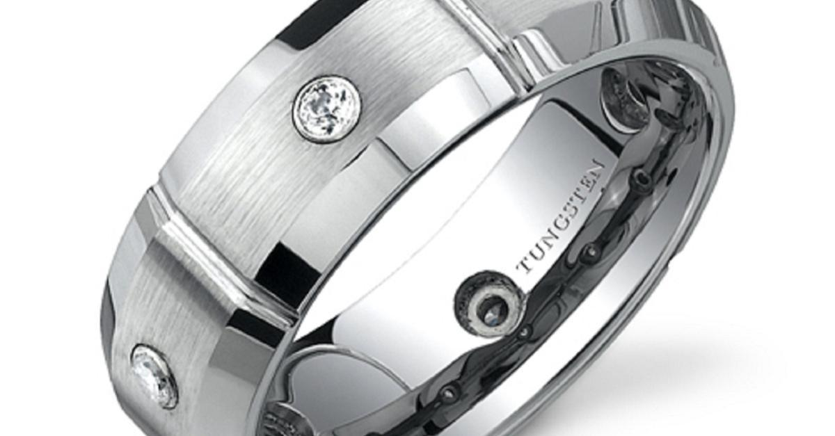 Bold - Sexy - Masculine - Tungsten Rings  $50 each