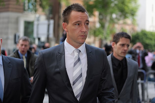John Terry Arrives At Court For Alleged Racial Abuse