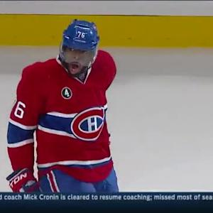 P.K. Subban Goal on Ben Bishop (16:10/3rd)