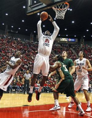Franklin leads No. 24 SDSU to 74-66 win over CSU