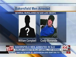 Bakersfield men arrested in San Luis Obispo