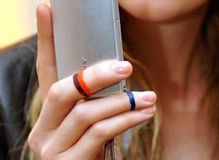Finger Bands at Vena Cava A/W 2011