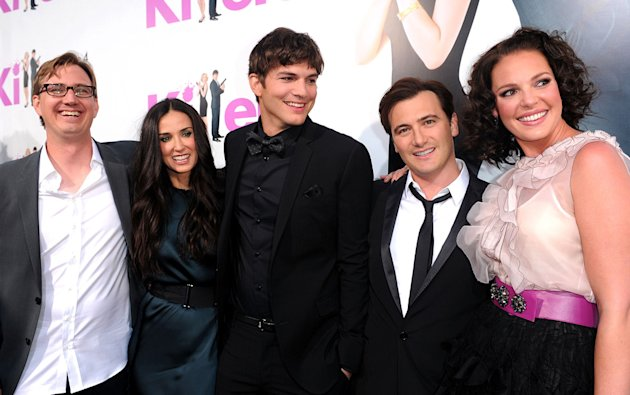 Killers LA Premiere 2010 Scott Aversano Demi Moore Ashton Kutcher Robert Luketic Katherine Heigl
