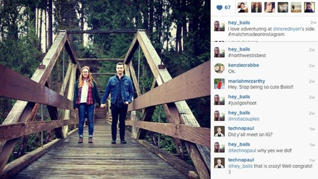 Couples Fall in Love on Instagram