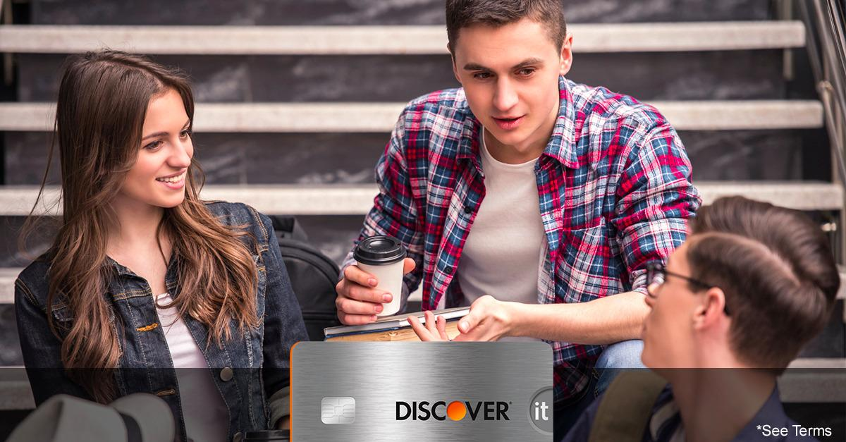 Now Discover It® Matches your First Year Cash Back