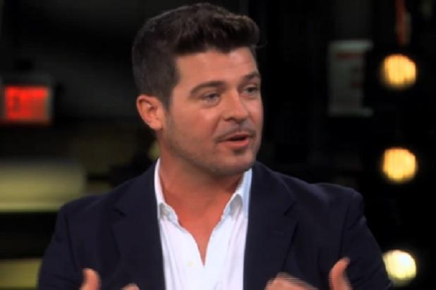 Robin Thicke: Miley Cyrus VMAs Controversy Is 'on Her' (Video)