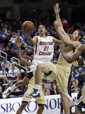 Hanlan scores record 41, BC routs Ga Tech 84-64
