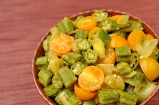 Okra stirfry from julie daniluk