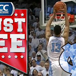 UNC's J.P. Tokoto Steals and Dunks Against Kentucky | ACC Must See Moment