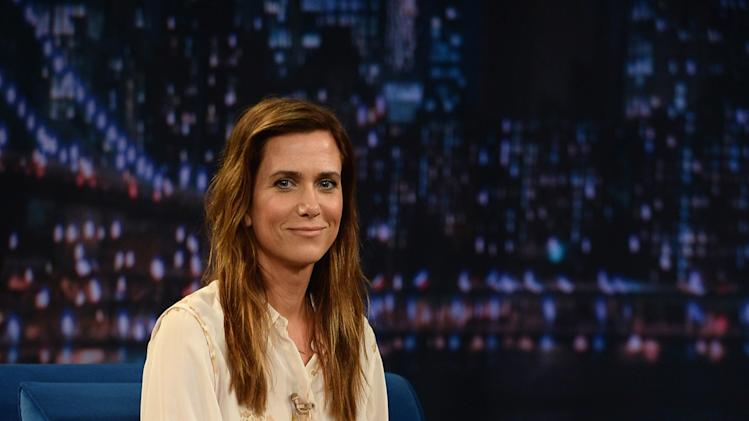 "Kristin Wiig Visits ""Late Night With Jimmy Fallon"""