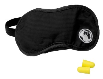 Davidsbeenhere: Sleep Eye Mask with Ear Plugs