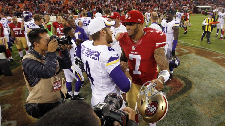 NFL: Preseason-Minnesota Vikings at San Francisco 49ers