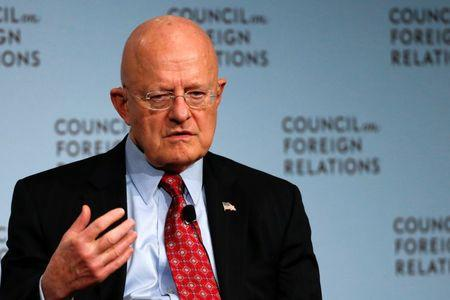 U.S. intelligence chief warns of 'homegrown' security threat