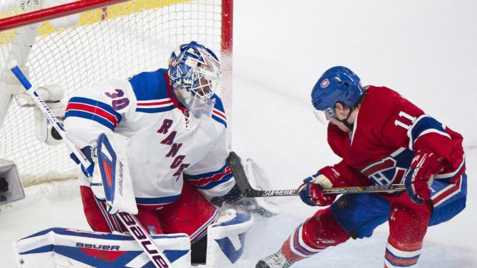 Rangers upend Canadiens 3-1, take 2-0 series lead