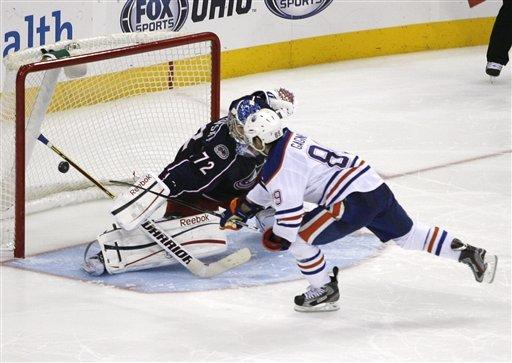 Blue Jackets beat Oilers to extend points streak