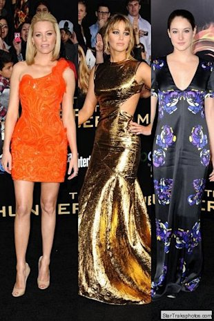 elizabeth banks jennifer lawrence shailene woodley