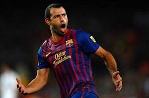 Mascherano delighted by Barcelona contract extension