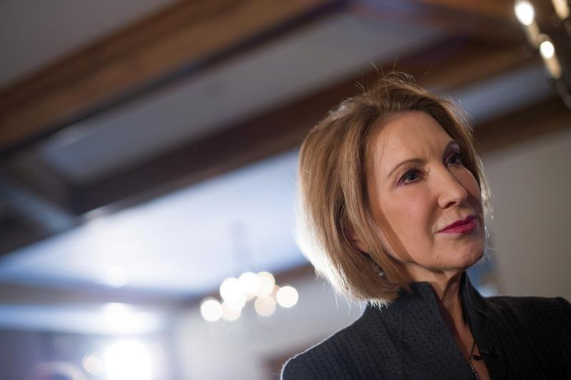 Former HP CEO Fiorina puts chances of presidential bid over 90 percent