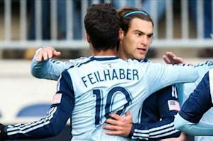 Sporting Kansas City 3-1 New England Revolution (4-3 aggregate): Kansas City in Eastern Conference finals