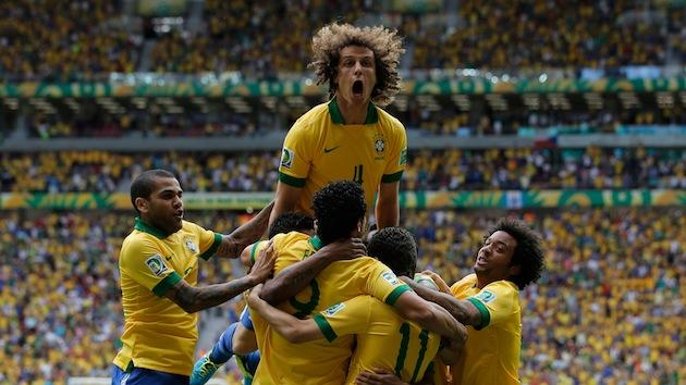 Neymar scores just three minutes into Confederations Cup opener