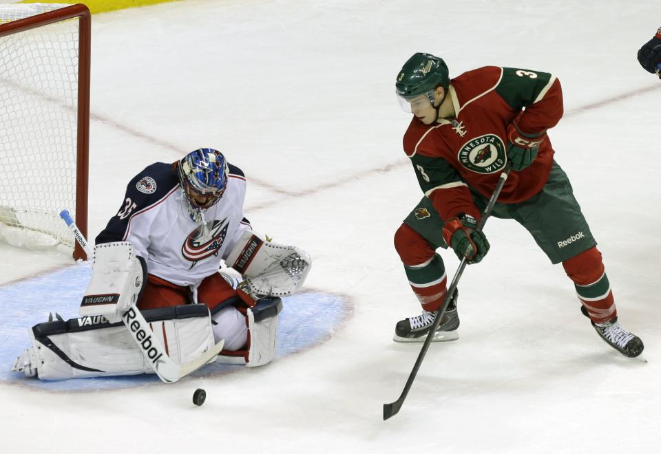 Blue Jackets split squad beats Wild 3-1