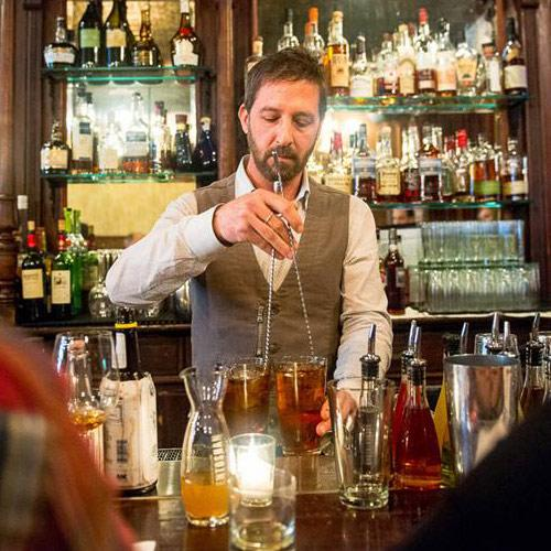 Don't insult the bartender's choice of profession